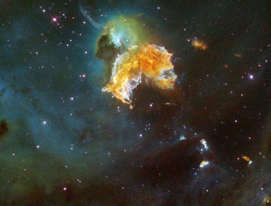 Supernova-Überrest N63a