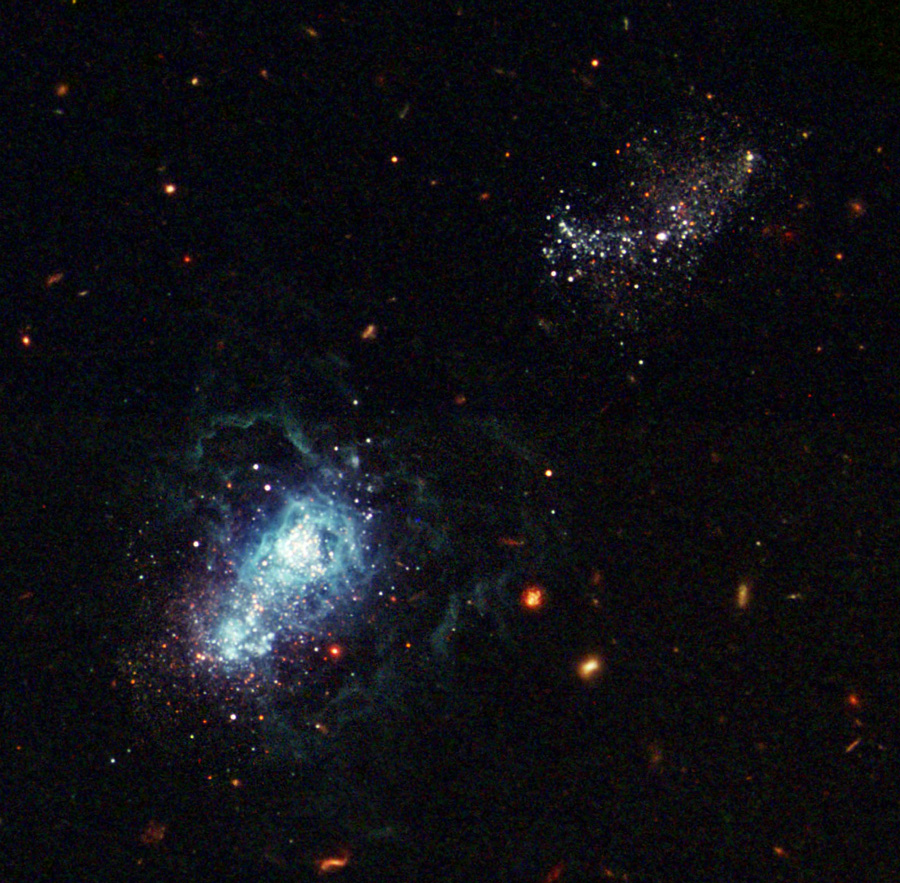 Image of galaxy I Zwicky 18
