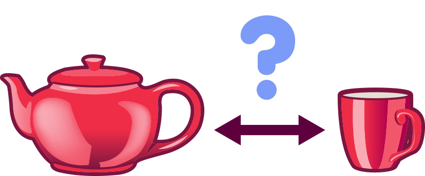 tea-pot and cup