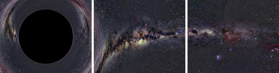 Reise in ein Schwarzes Loch: Schritt 3
