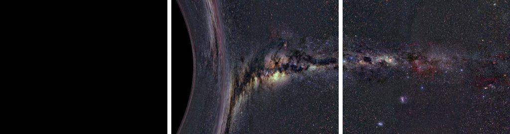 Descent into a black hole: step 4
