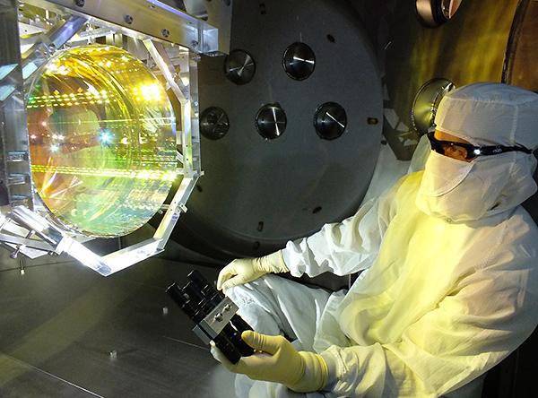 [Bild: Matt Heintze/Caltech/MIT/LIGO Lab]